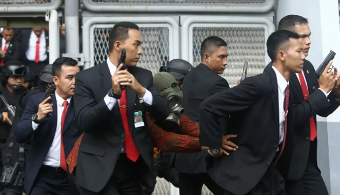 VVIP and VIP Protection, Executive Protection, Personal Bodyguards and Security Guard Services in Batam Jakarta Indonesia 2